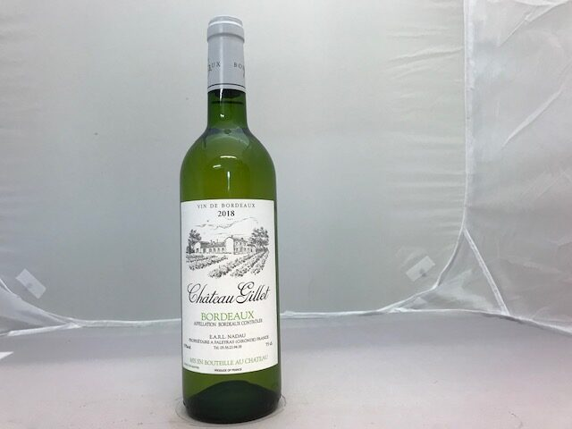CHATEAU GILLET BLANC 2018